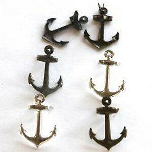 NEW Eyelet Outlet Shape Brads 12 Pack Metallic Anchor