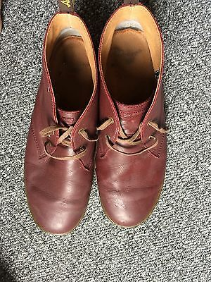 Dr Martens burgundy leather Cabrillo boots size 11