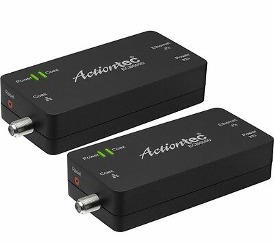 New Actiontec MoCA Network Adapter 2-pack allows Internet over coax