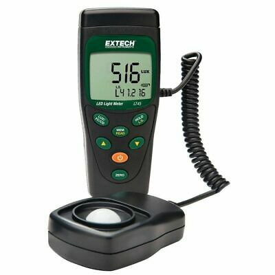 Extech LT45 Color LED Light Meter. Measures White, Red, Yellow, Green, and Blue