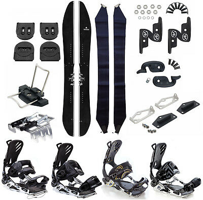 Snowboard Splitboard Pathron Missile + Voile Splitboard Hardware + SP FT Bindung