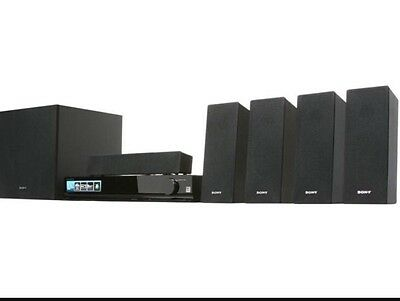 Sony HT-SS380 5.1 Channel Home Theater System Complete With Manual
