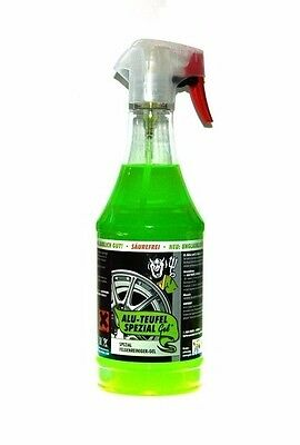 Tuga Chemie Alu Teufel Gel Aluminium Iron Decontamination Wheel Cleaner 1000ml