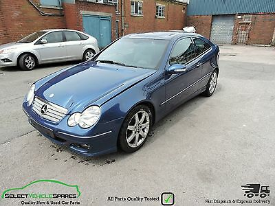 Mercedes Benz C-Class C220 Cdi W203 Diesel Coupe Breaking Spares Parts Salvage