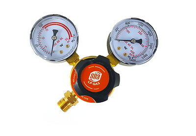 SÜA - Propane Regulator Welding Gas Gauges - CGA-510 - Rear Connector - LDP