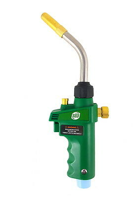 SÜA - MAPP or Propane Adjustable Brazing & Soldering Self Igniting Torch - Green