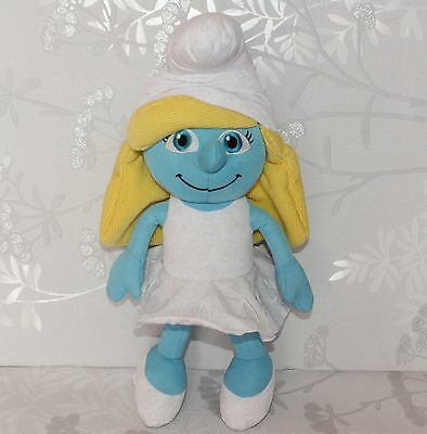 """The Smurfs Soft Toy - Large Smurfette Plush Toy 14"""" Tall"""