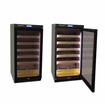 The Hydra Electronic Cigar Humidor Cabinet Tower w/LED Lighting