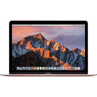 "Apple 12"" MacBook (Mid 2017, Rose Gold) MNYM2LL/A"