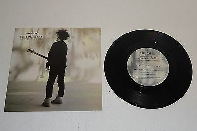 """THE CURE BOYS DON'T CRY 1986 FICTION 7"""" UK 1st PRESSING, P/S"""