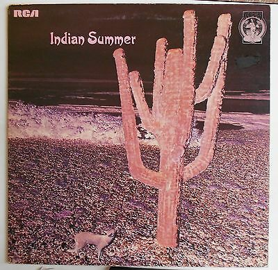 INDIAN SUMMER SAME UK 1st PRESS EDITION RCA NEON N3 LABEL LP RARE  B15