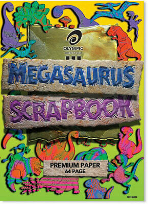 Olympic Scapbook Megasaurus 335x 240mm 64 Page 10 Pack