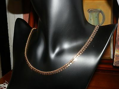 Collier Ancien  A Sequin Or 18K 17.70Grs!!!!