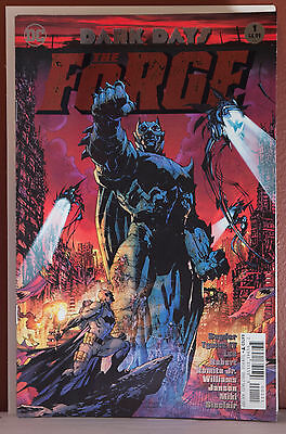 Batman Dark Days : The Forge Foil Stamped Cover NM