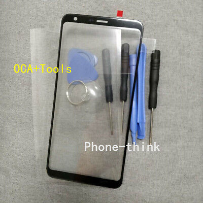 OEM Front Screen Glass Lens Replacement For LG Q Stylus Stylo 4 Q710 OCA+Tools