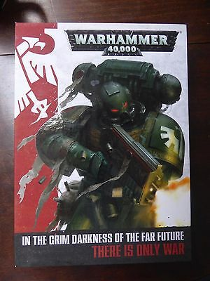 Warhammer 40k 7th Edition Boxed Rulebook, Miniature Showcase and Artbook