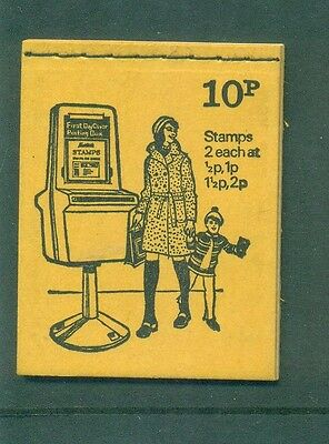 Great Britain 10p Pillar Box June 1974 DN66