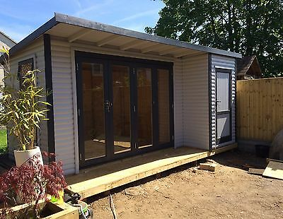 15x9 Double glazed Summer House, Home Office, Gym, Annex, Garden Shed