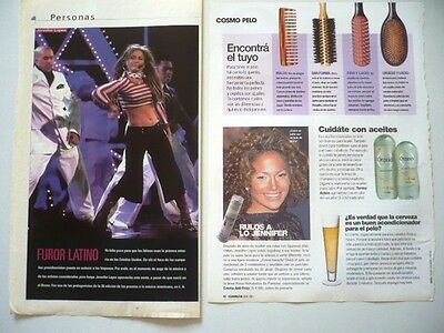 Jennifer Lopez - Lot Of 20 Original Clippings Cuttings Very Rare L@@k