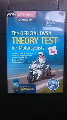 The official DVSA motorcycle theory test dvd