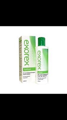 Exorex Lotion - 5% Coal Tar Solution - For The Treatment Of Psoriasis - 100ml