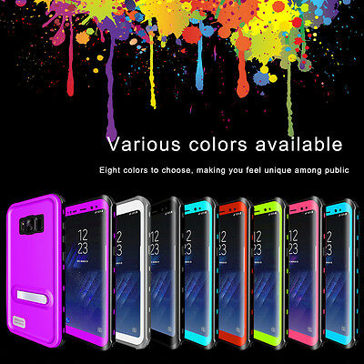 Waterproof Case Underwater Shockproof Dirtproof  For Samsung Galaxy S8 S9 Plus