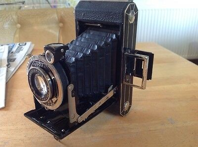 Vintage Kodak Six-20 Compur C  Roll Film Folding Camera , See Listing