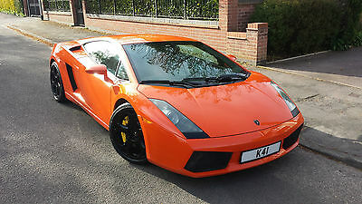 Lhd Lamborghini Gallardo 2005 Orange E Gear Auto 5.0 V10 4Wd Left Hand Drive!