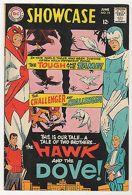 HAWK and DOVE VF LOT (3) Showcase #75 #1 #6 DC silver age comics 1968 Gil Kane