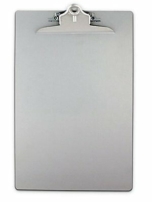 Saunders 22519 Recycled Aluminum Clipboard with High Capacity Clip - Legal Si...