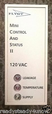 Flygt MiniCAS II Seal Leak Leakage detector Supervisor Relay 250VAC Xylem