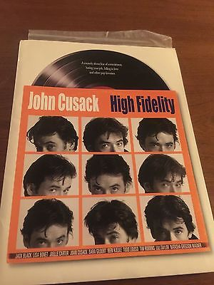 HIGH FIDELITY (2000) Press Kit, Photos and CD-ROM, Booklet - John Cusack