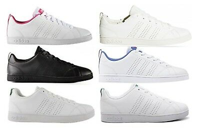 ADIDAS NEO CF ADVANTAGE CLEAN K scarpe stan donna smith sportive sneakers pelle
