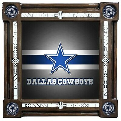 Dallas Cowboys Theme Domino Table by Domino Tables by Art