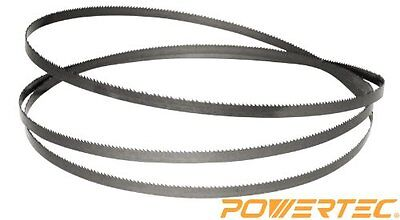 "POWERTEC Band Saw Blade - 63.5 "" x 3/8 "" x 10TPI for Craftsman..."