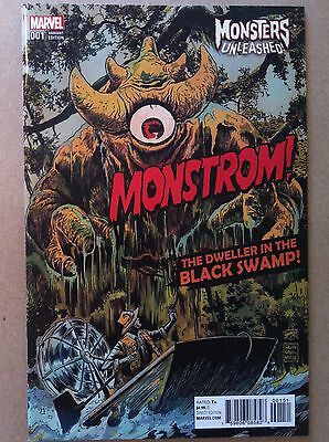 Monsters Unleashed (2016) #1 Francesco Francavilla Variant Cover Nm 1St Printing