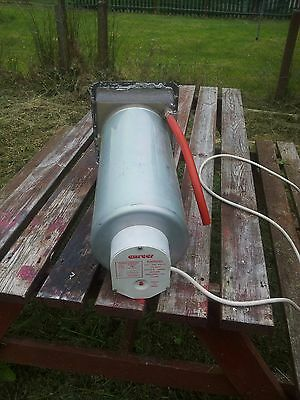 Carver Cascade 2 gas and 240 water heater