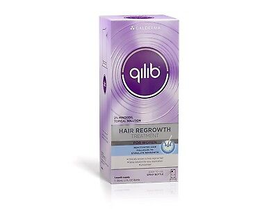 Qilib Hair Regrowth Treatment, Women, Unscented, 2 Fluid Ounce (Pack of 2)