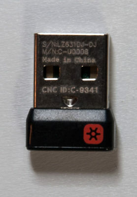 Logitech Unifying Receiver  Wireless Dongle for Keyboard Mouse