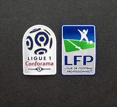 Ligue 1 Fan-Set 2017/2018 French League LFP Logo Patch toppa Conforama