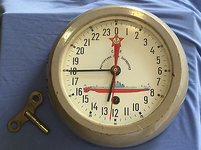 Vintage Russian Maritime Submarine 24 - deal clock