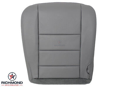 2002-2005 Ford Excursion 5.4L V8 6.8L V10 -Driver Bottom LEATHER Seat Cover Gray