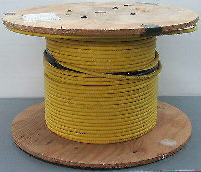 530' Corning MIC Tight-Buffered Interlocking Armored Plenum 12 Fiber Optic Cable