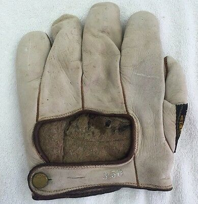 Vintage Early 1900's Kaufmann's Pittsburgh Co. Fielders Glove 02k
