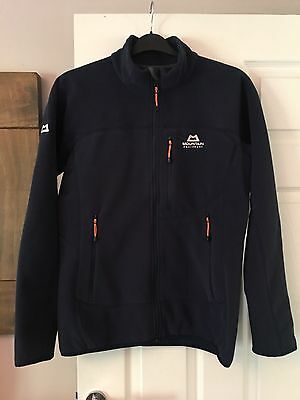 Mountain Equipment Mens Litmus Fleece Jacket Size Small RRP £90 Blue