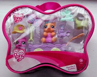 Cheerilee & Scootaloo - NEW/UNOPENED - My Little Pony/MLP - G3/2008