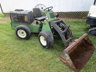 Power Trac Pt-425 Articulated Wheel Loader. 4X4. Hyd Quick Attach Bucket & Forks