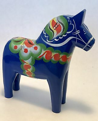"5"" Blue Dala Horse New"