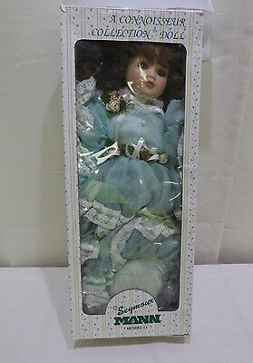 """A Connoisseur Porcelain Collection Doll From Seymour Mann 18"""" Tall"""