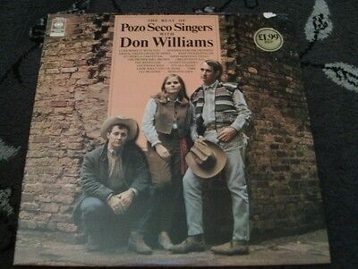 "The Best of Pozo Seco Singers with Don Williams 12"" Vinyl Record LP"